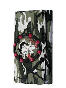 BETTY BOOP WALLET CAMOUFLAGE