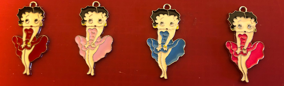 Betty Boop Charms