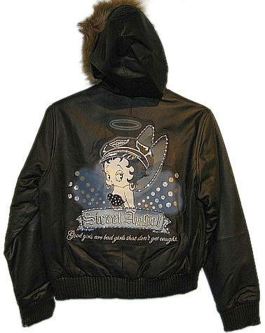 Product Image Betty Boop Leather Jacket