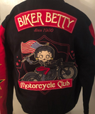 Betty Boop Biker Betty Motorcycle Club Jacket