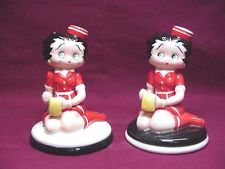 Betty Boop Diner Salt & Pepper Shakers