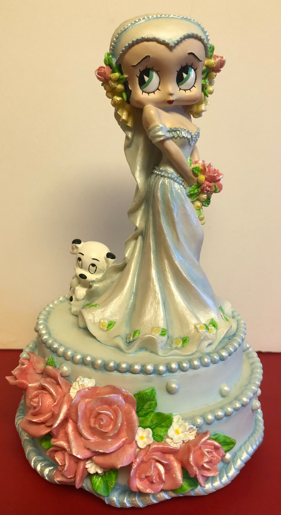 Betty Boop Musical Bride Figurine
