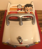 Betty Boop Limited Edition Coca Cola Car Cookie Jar   (Retired)