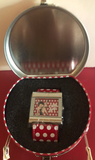 Betty Boop Square Polka Dot Watch