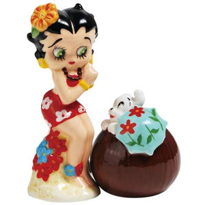 Hawaiian Betty & Pudgy S&P Shakers