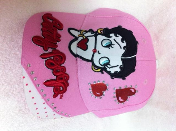 Betty Boop Hearts Hat