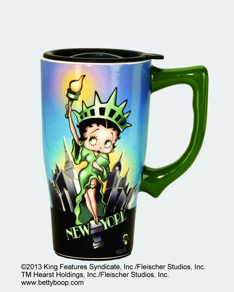 Betty Boop Liberty Travel Mug