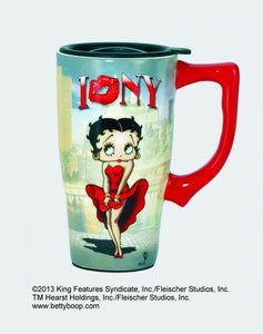 Betty Boop New York Travel Mug