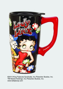 Betty Boop Lady Luck Travel Mug