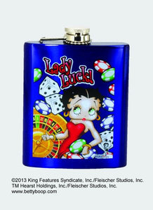 Betty Boop New York Flask