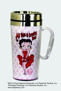 Betty Boop All Brains Too Insulated Mug