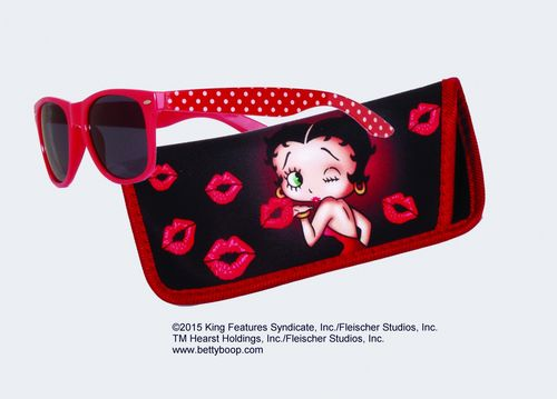 Betty Boop Sunglasses with Case