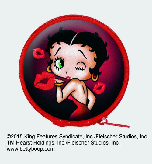 Betty Boop Kisses Earbuds With Case