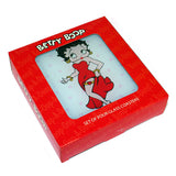 Betty Boop Polka Dot Glass Plates