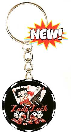 Product Image Betty Boop Keyring