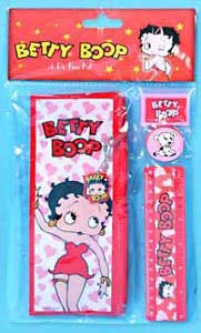 Product Image Betty Boop 4 Piece Study Set