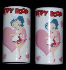 Product Image Betty Boop Salt and Pepper Shaker