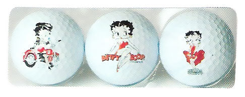 Product Image Betty Boop Golf Balls