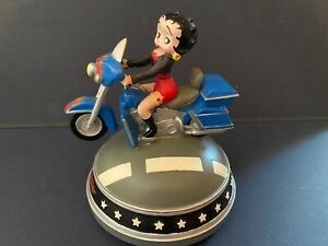 Betty Boop Musical Biker Figurine