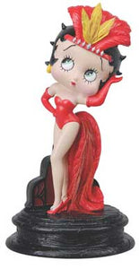 Product Image Betty Boop Showgirl Figurine