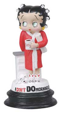 Product Image Betty Boop I Don't Do Mornings Figurine