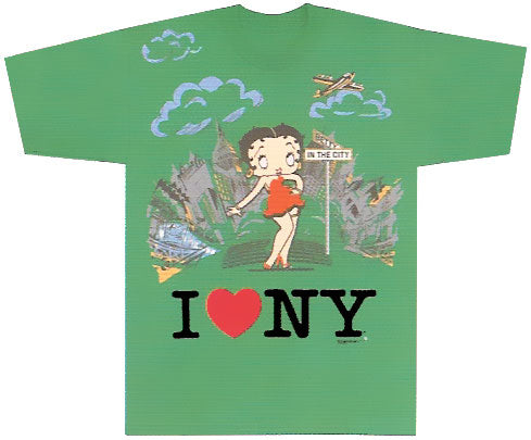 Product Image Betty Boop In The City T-Shirt