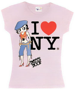 Product Image Hip Hop NY Betty Boop T-Shirt