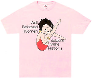 Product Image Betty Boop Well Behaved Women T-Shirt