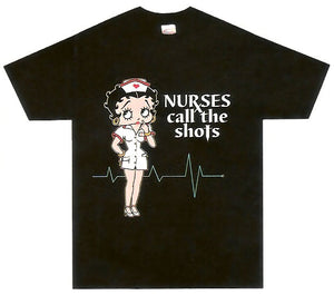Product Image Nurses Call the Shots Betty Boop T-Shirt