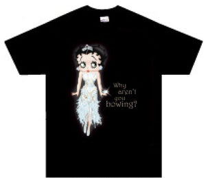 Product Image Betty Boop Bowing T-Shirt