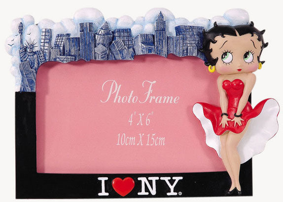 Betty Boop I Love NY Picture Frame Retired