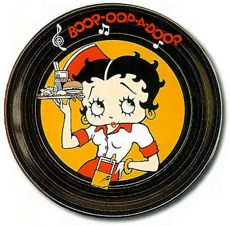 Product Image Betty Boop Diner Plate