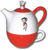 Product Image Betty Boop Tea For One