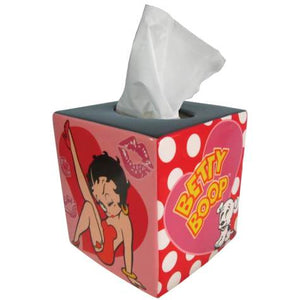 Betty Boop Polka Dots Tissue Box Cover