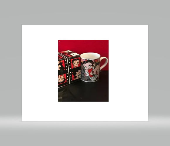 Betty Boop Bed of Roses Mug (Retired)