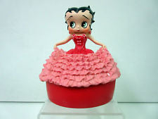 New Betty Boop in Pink Gown Elegant Cover Box Very Rare & Retired