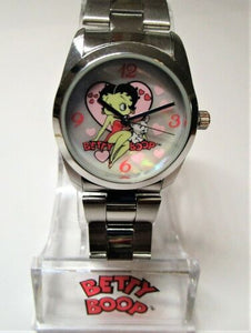 Betty Boop Mother of Pearl Face Watch