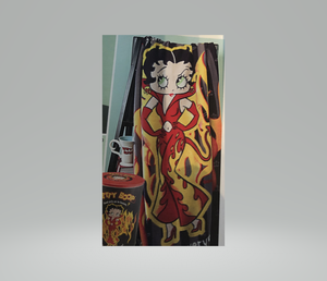 Devil Betty Boop Fleece and Collector Tin Gift Set