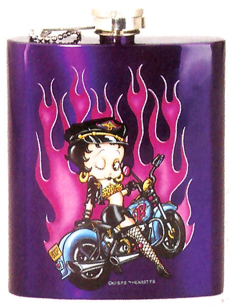 Product Image Betty Boop Biker Flask