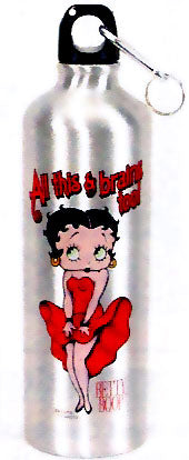 Product Image Betty Boop All This And Brains Water Bottle