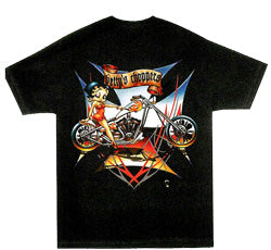 Product Image Betty Boop Choppers T-shirt