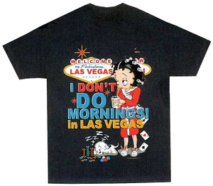 Product Image I Don't Do Mornings in Vegas Betty Boop T-Shirt