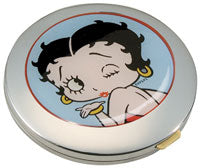 Product Image Betty Boop Metal Hand Mirror