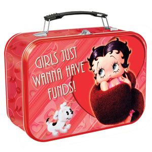 etty Boop Large Girs Just Wanna Have Funds Tote Retired