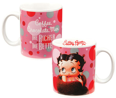 Product Image Richer The Better Betty Boop Mug