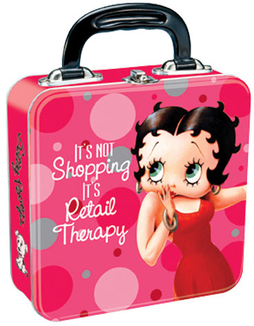Product Image Betty Boop Tin Tote