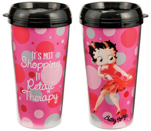 Product Image Betty Boop Shopping is Therpy Travel Mug