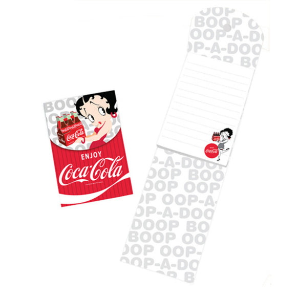 Product Image Betty Boop Coke Notepad