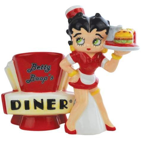 Betty Boop's Diner S&P Shakers