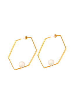 Hexagon Hoops - Maison Orient